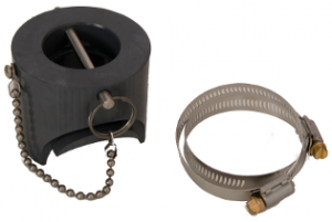 saddle mount pipe adapters